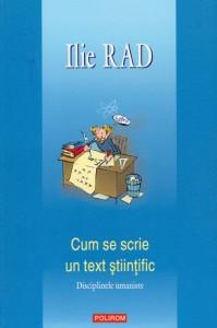 Cum se scrie un text științific - Ilie Rad